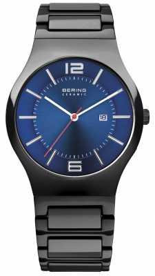 Bering Black Ceramic Blue Dial 31739-747