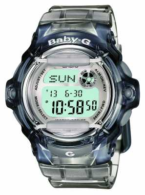 Casio Womens Baby-G Transparent Digital BG-169R-8ER