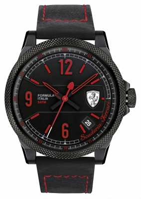 Scuderia Ferrari Formula Italia S Black/ Red Watch 0830271