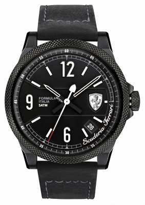 Scuderia Ferrari Mens Formula Italia S Black/ White 0830272
