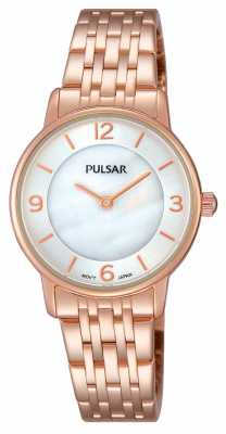 Pulsar Womens Rose Gold PVD Plated PRW028X1