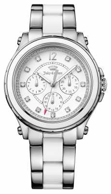 Juicy Couture Womens Hollywood Stainless Steel Ceramic 1901304