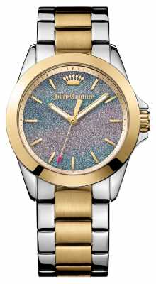 Juicy Couture Womens Malibu Two Tone Glitter Dial 1901286