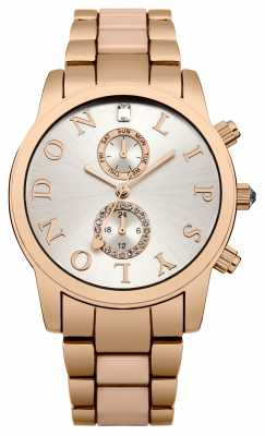 Lipsy Womens Two Tone Sunray Dial LP357