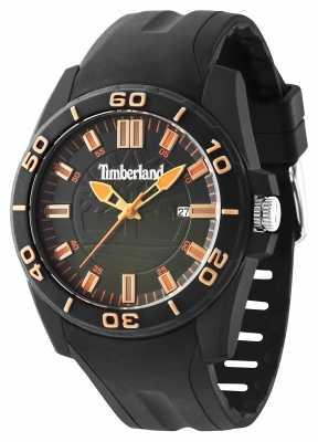 Timberland Mens Dunbarton Black Strap Black Dial 14442JPB/19P