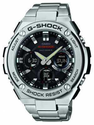 Casio Mens, Multiband, Radio Controlled Watch GST-W110D-1AER