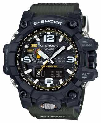 Casio Premium Mudmaster G-Shock Tough Solar RC GWG-1000-1A3ER