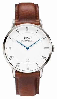 Daniel Wellington Mens Dapper 38mm St Mawes Stainless Steel DW00100087