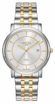 Roamer Mens Classic Line Stainless Steel Silver Dial 709856471770