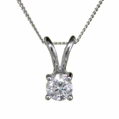 18ct White Gold 'Four Claw' - 0.66ct H SI FOURCLAW-P066