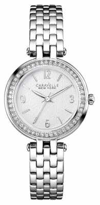 Caravelle New York Ladies Stainless Steel T Bar Watch 43L185