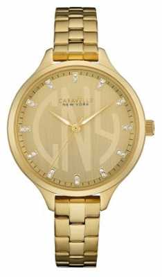 Caravelle New York Ladies Round Slim Watch 44L206