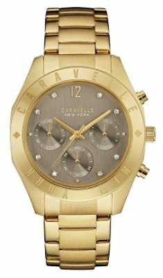 Caravelle New York Ladies Boyfriend Chronograph Watch 44L191