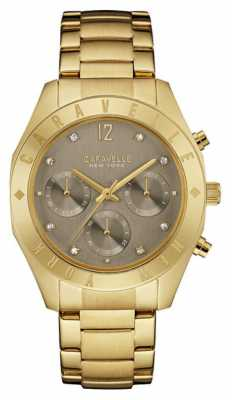 Caravelle New York Ladies Boyfriend Chronograph Watch 44L191