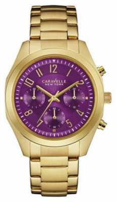 Caravelle New York Ladies Melissa Chronograph Watch 44L200