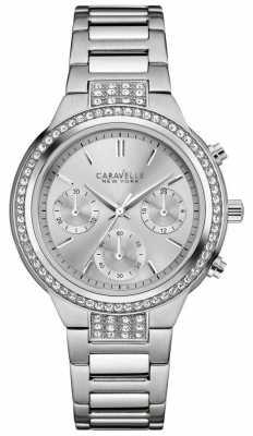 Caravelle New York Ladies New Boyfriend Watch 43L186