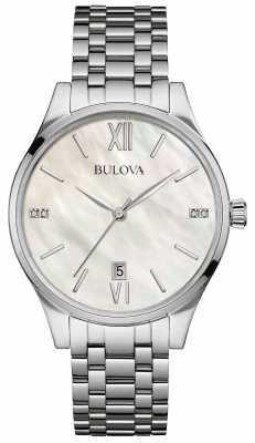 Bulova Ladies Diamond Gallery Watch 96S161