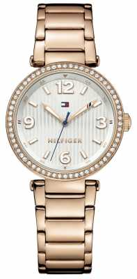 Tommy Hilfiger Womens Lynn Rose Gold PVD Plated 1781590