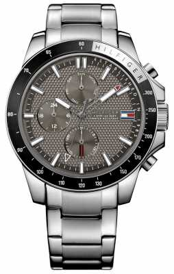 Tommy Hilfiger Mens Jace Stainless Steel Chronograph 1791165