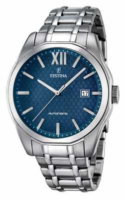 Festina Mens Automatic Stainless Steel F16884/3