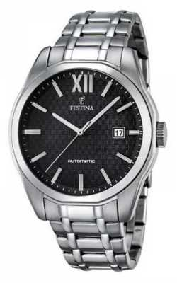 Festina Mens Automatic Stainless Steel F16884/4