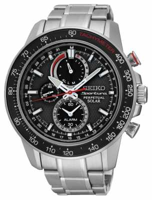 Seiko Mens Sportura *TV Ad* Perpetual Solar Powered SSC357P1