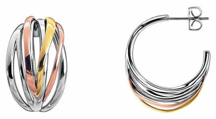 Calvin Klein Crisp Three Tone Earrings KJ1RDE300100