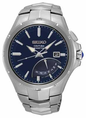 Seiko Mens Coutura Kinetic Stainless Steel SRN067P1