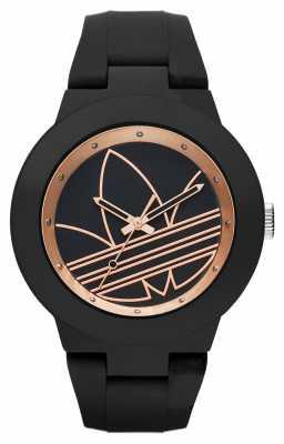 adidas Originals Unisex Aberdeen Black Silicone Strap ADH3086