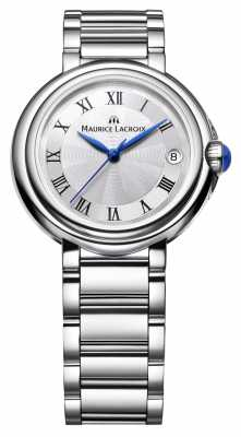 Maurice Lacroix Ladies Fiaba 28mm Round Stainless Steel FA1004-SS002-110-1