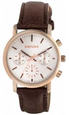 Kahuna Womens Brown Strap Chronograph KLS-0316L