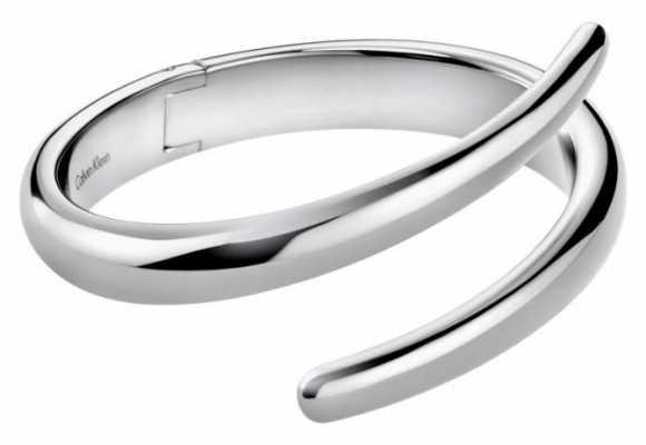 Calvin Klein Embrace Stainless Steel Bangle KJ2KMD00010S