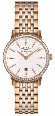Rotary Womens Les Originales Two Tone White Dial LB90057/06