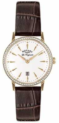 Rotary Womens Les Originales Brown Leather LS90054/01