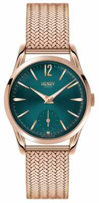 Henry London Womens Stratford Rose Gold PVD Plated HL30-UM-0130