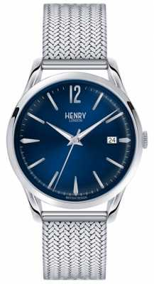 Henry London Unisex Knightsbridge Stainless Steel HL39-M-0029