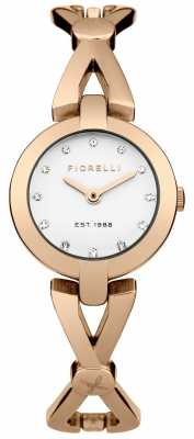 Fiorelli Womens Rose Gold PVD Plated Silver FO003RGM