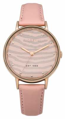 Fiorelli Womens Pink Leather Strap FO010CRG
