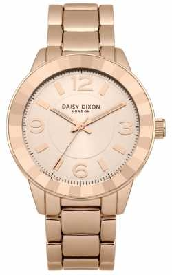 Daisy Dixon Womens Rose Gold PVD Plated Rose Dial DD014RGM