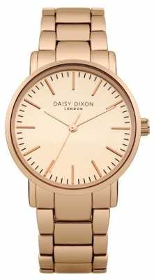 Daisy Dixon Womens Kate Matt Mirror Dial Rose Gold PVD DD004RGM