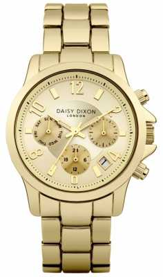 Daisy Dixon Womens Gold Tone PVD Plated Gold Dial DD001GM