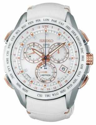 Seiko Astron GPS Limited Edition White Strap SSE021J1