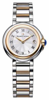 Maurice Lacroix Fiaba Womens Two Tone Silver Dial FA1003-PVP13-110-1