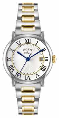 Rotary Mens Les Originales Carviano Two Tone GB90141/06