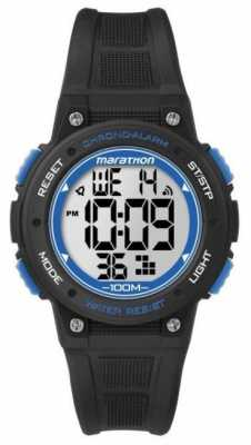Timex Marathon Digital Black/blue TW5K848004E