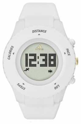 adidas Performance Mens Sprung White Silicone Strap Digital ADP3204