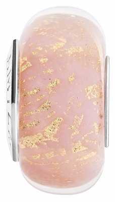 Chamilia Gilded Age Rose Pink Murano 2110-1246
