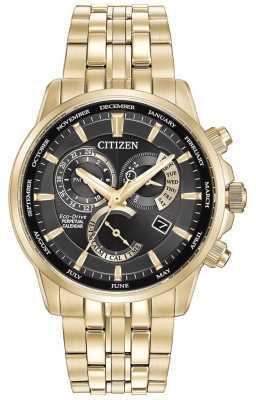 Citizen Gents Calibre 8700 Eco-Drive Gold Plated BL8142-50E