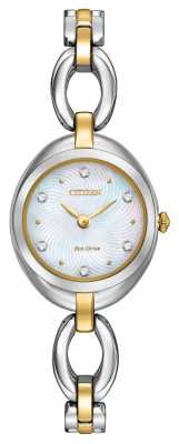 Citizen Womens Crystal Dial Silhouette EX1434-55D