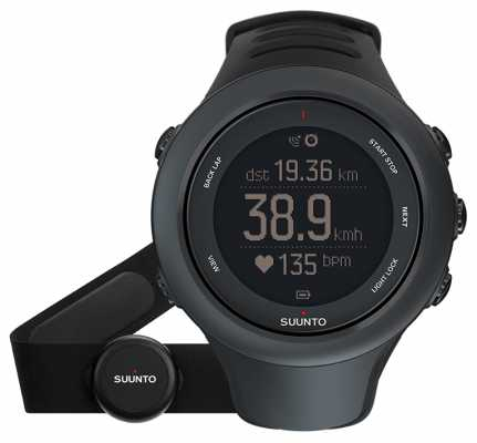 Suunto Ambit3 Sports Black (HR) SS020678000